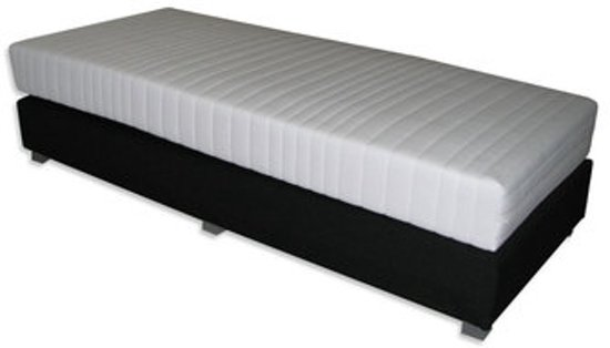 boxspring xxl 1 persoons 90x200. Black Bedroom Furniture Sets. Home Design Ideas