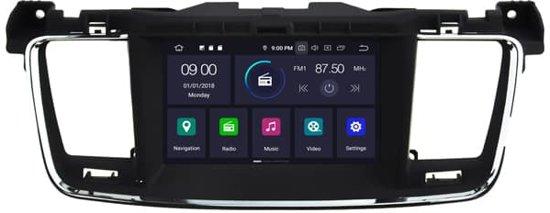 Peugeot Android 9.0 Navigatie voor Peugeot 508