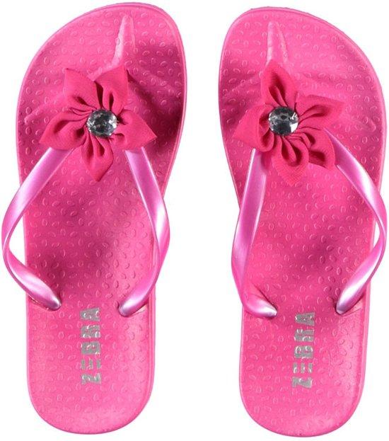 506be1395251 Zebra slipper Pink maat 37