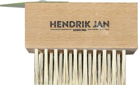 Hendrik Jan onkruidborstel met schraper (zonder steel)