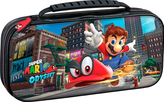 Bigben Official Licensed Super Mario Odyssey Beschermhoes - Nintendo Switch - Zwart