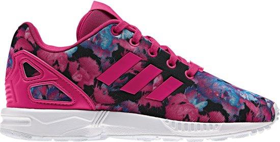 adidas zx flux blauw roze