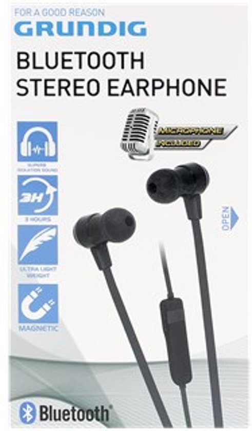 grundig bluetooth stereo earphone. Black Bedroom Furniture Sets. Home Design Ideas