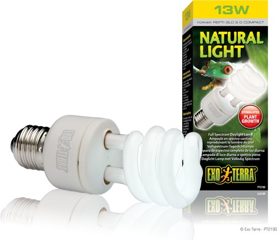 Exo Terra Terrarium verlichting Natural light 13 watt - 13w