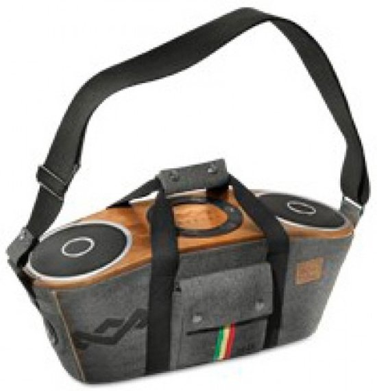 The House Of Marley Bag Riddim Grijs