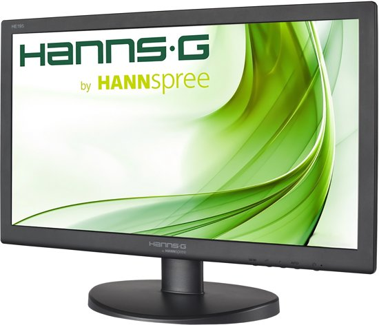 Hannspree Hanns.G HE195ANB 18.5'' HD Zwart computer monitor