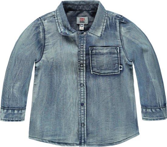 laag geprijsd ooit populair op groothandel Tumble 'N Dry Jongens Blouse - Denim Medium Used - Maat 74