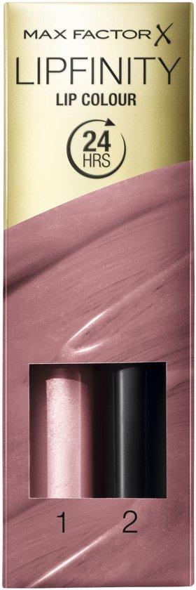 Max Factor Lipfinity Lip Colour Lipgloss - 01 Pearly Nude