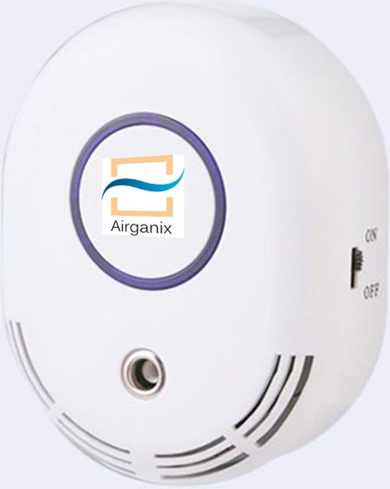 Airganix Schone lucht in je huis, op je werk. Tegen hooikoorts en bacteriën en virussen.