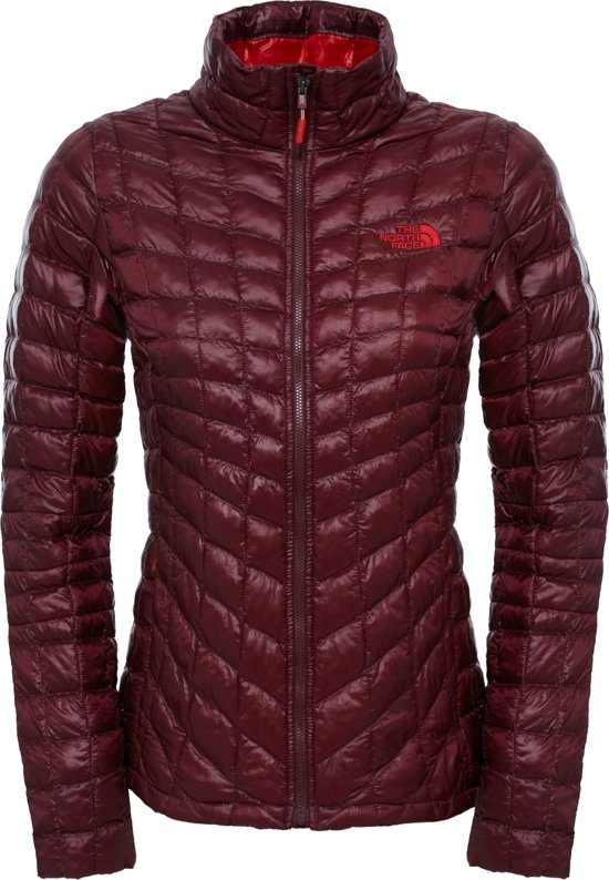 4d2e9c50004 The North Face Thermoball - Outdoorjas - Dames - Maat S - Deep Garnet Red