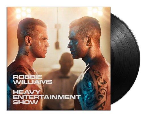 CD cover van The Heavy Entertainment Show (LP) van Williams, Robbie