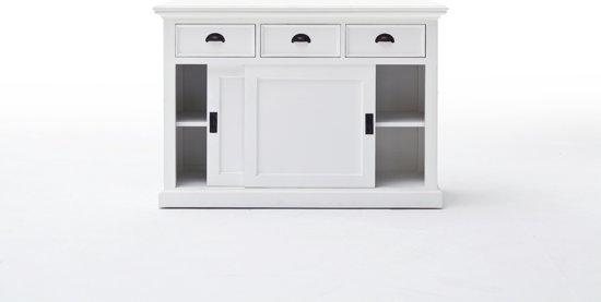 Bol wit keuken dressoir met schuifdeuren  cm
