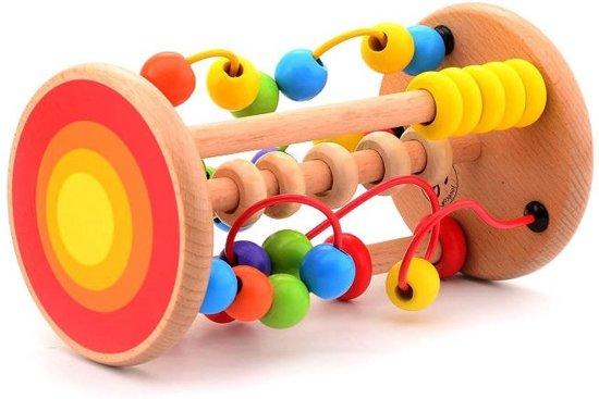 Afbeelding van Joueco Rollende Kralenbaan speelgoed