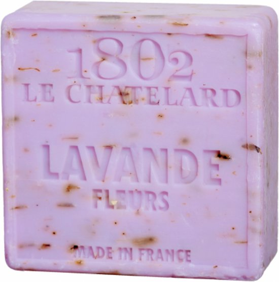 Natuurlijke Marseille zeep Lavendelbloem (100 gram)