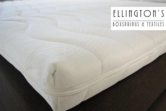 Ellington - Topdekmatras - Topper 90x200 - Extra Dik 8cm - Koudschuim - HR40