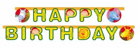 Bol Com Safari Feest Verjaardag Wenslijn Merkloos Speelgoed