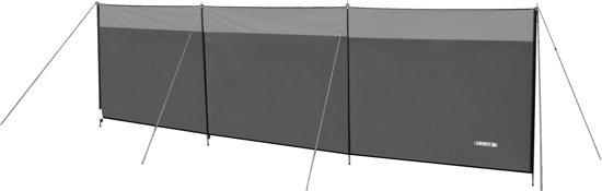 Abbey Camp Windscherm Polyester - 5 Meter - Grijs/Lichtgrijs