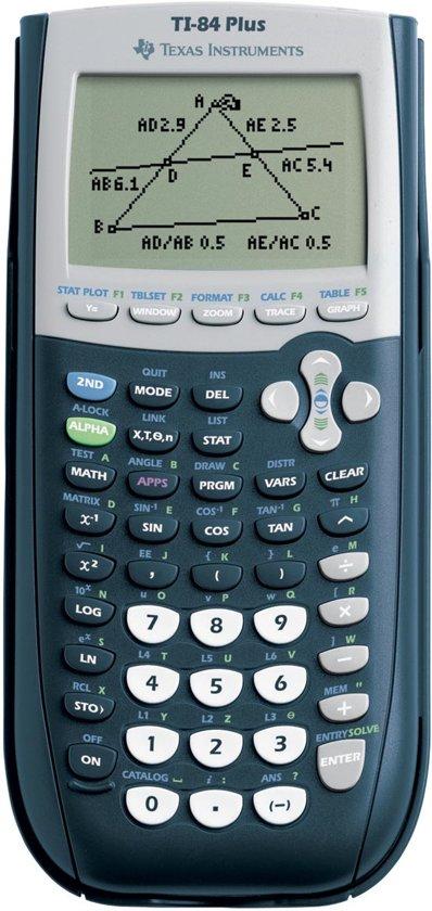 Afbeelding van Texas grafische rekenmachine TI-84 Plus met examenfunctie