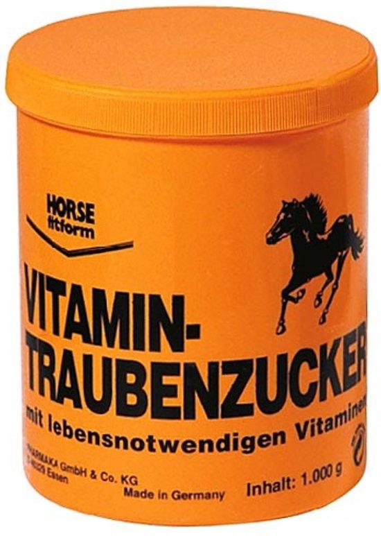 Horse Fitform Weerstand- en herstelmiddel Druivensuiker met vitamines - 1000 gr