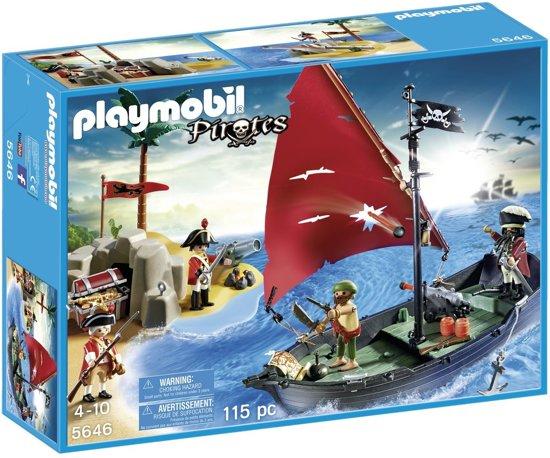 Playmobil pirates 5646 Piraten gevecht om de goudschat