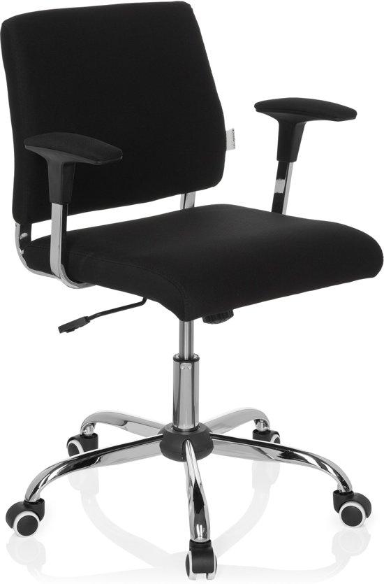 hjh office Avida - Bureaustoel - Zwart