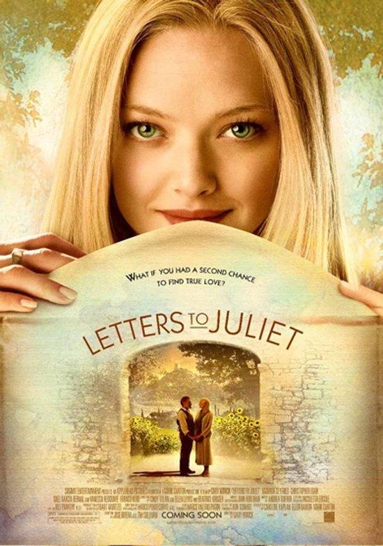 DVD cover van Letters To Juliet