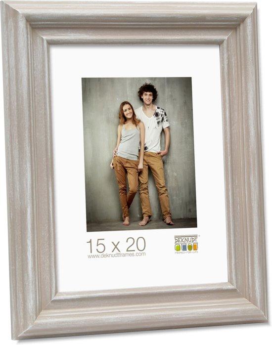 Deknudt Frames fotokader beige geschilderd klassieke stijl