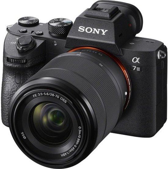 Sony A7 Mark III Body + 28-70mm - Zwart