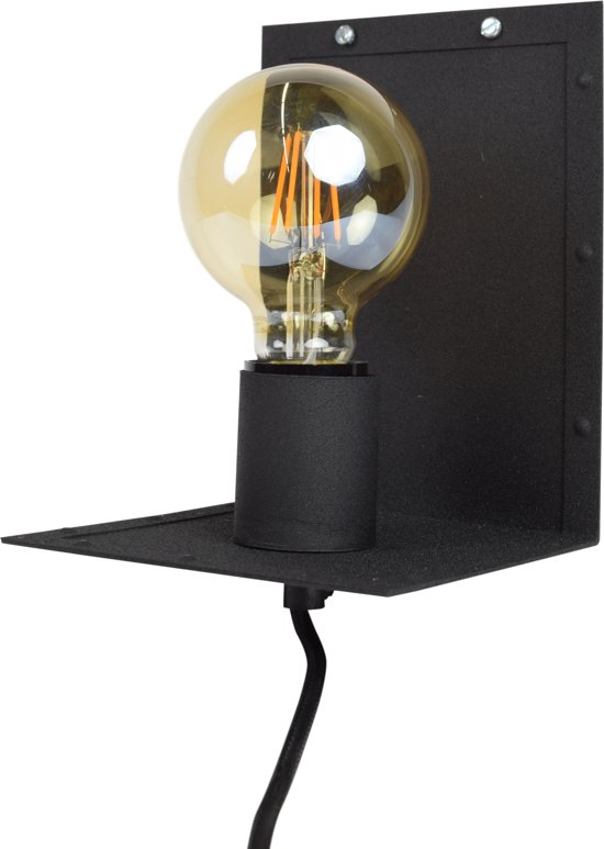 Urban Interiors - Hook - Wandlamp - Vintage black