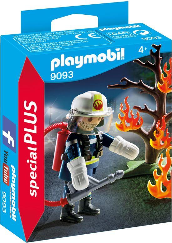 Super bol.com | PLAYMOBIL Brandweerman met brandende boom - 9093 BV-46