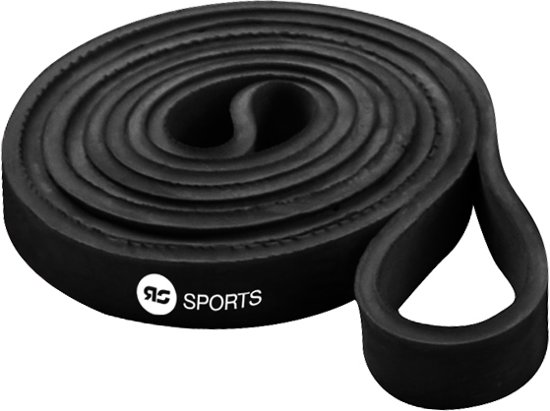 RS Sports Power band l Weerstandsband l Resistance band - light - zwart