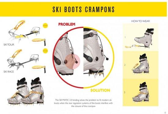 Grivel Ski Tour robuuste lichte stijgijzers voor skischoenen
