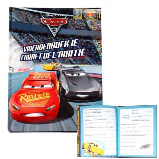Disney - Vriendenboekje - Cars 3