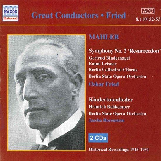Fried: Mahler-Symphony No.2