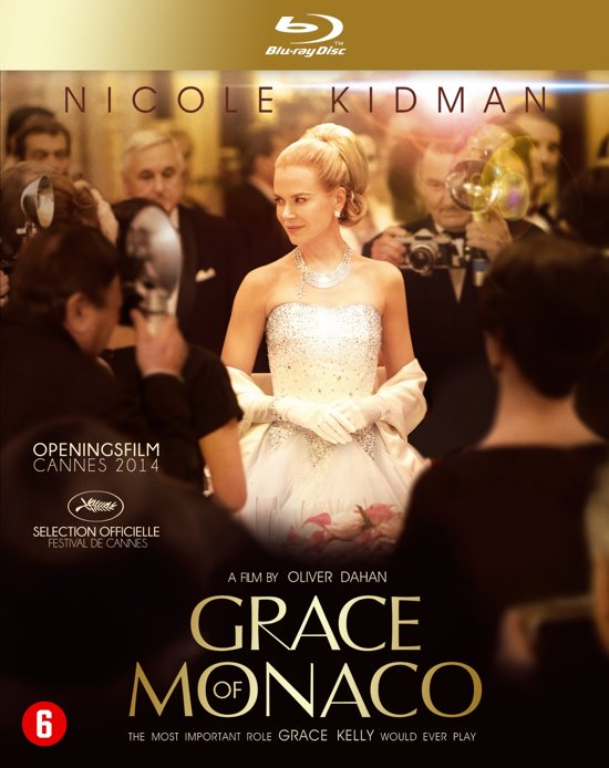 DVD cover van Grace Of Monaco (Blu-ray)