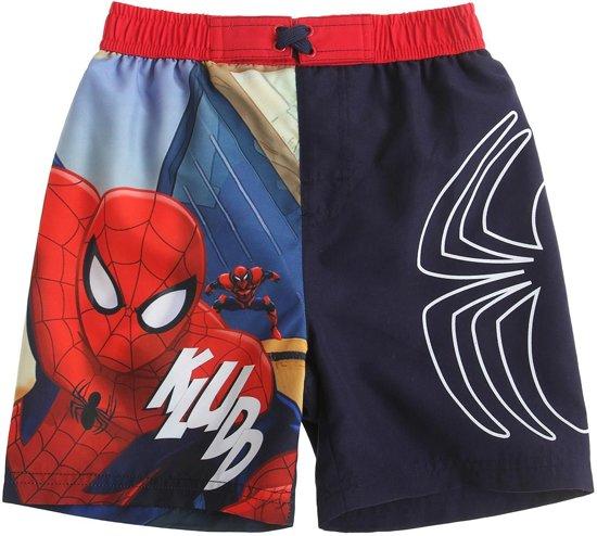 Spiderman Zwembroek.Bol Com Spiderman Zwembroek Blauw Maat 140