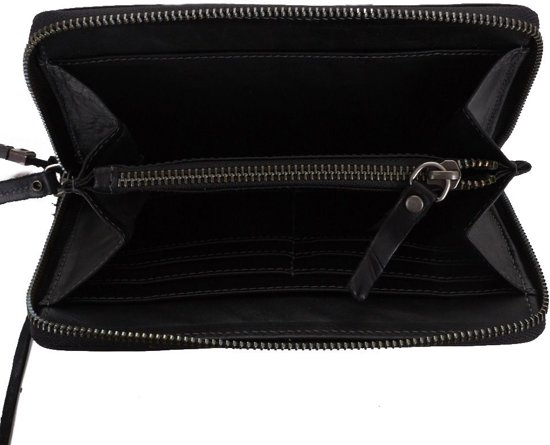   Legend Bags Jersey Portemonnee Black