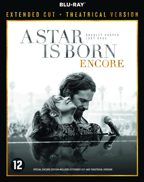 DVD cover van A Star is Born Encore (Blu-ray) (Extended Cut) (Limited Edition)