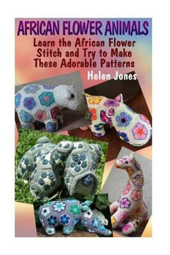 Bolcom African Flower Animals Helen Jones 9781544051758 Boeken