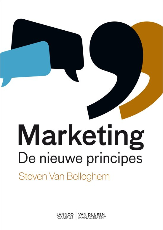 Boek cover Marketing van Steven van Belleghem (Hardcover)