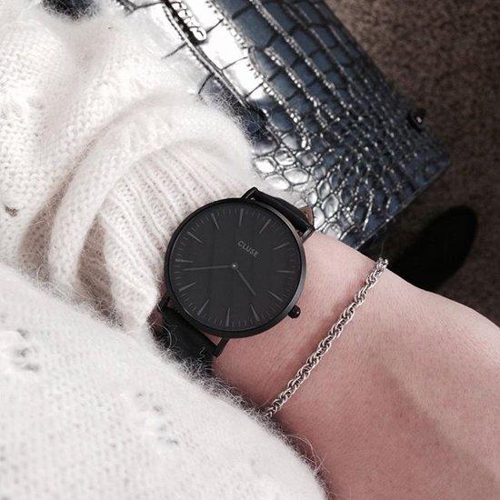 Cluse La Bohème Leather Horloge
