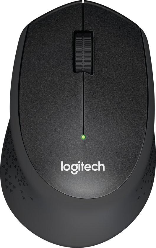 Logitech M330 - Silent Plus Draadloze Muis - Zwart