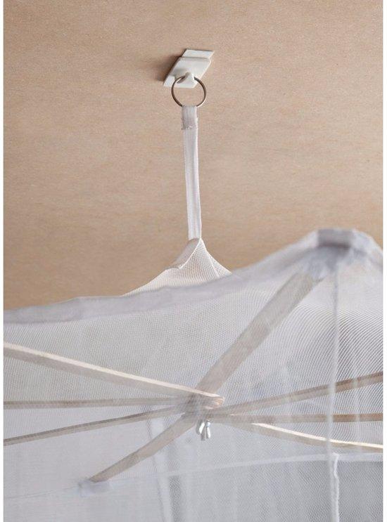 Zelfklevende klamboe ophang haak - draagkracht 1,5 kg