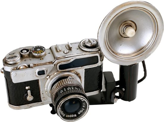 nikon decoratie camera