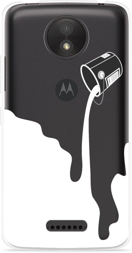 Motorola Moto C Hoesje Paint Bucket