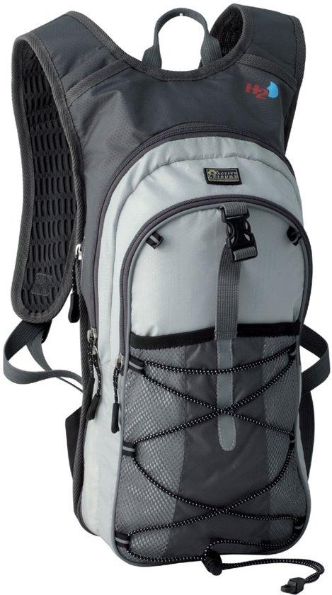 Active Leisure Biker Backpack - 9 Liter - Charcoal/Silver Grey