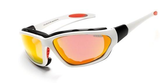 Sinner Discovery SINTEC® - Sportbril - UV-bescherming - Wit