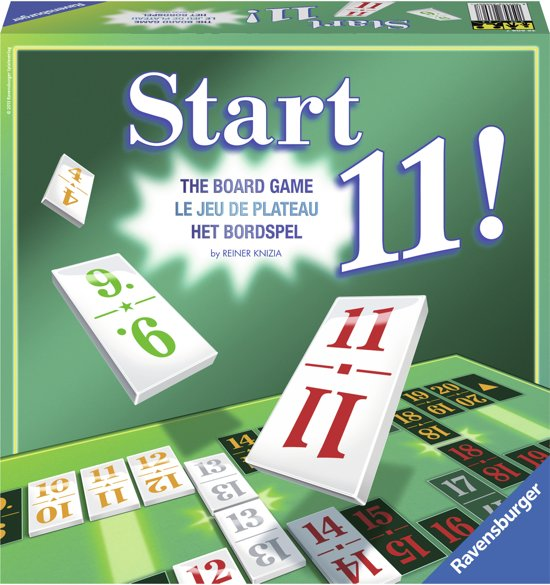 Ravensburger Start11 het bordspel