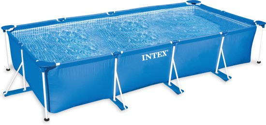 Intex frame pool zwembad 220 x 150 x 60 cm for Intex pool 150 cm tief