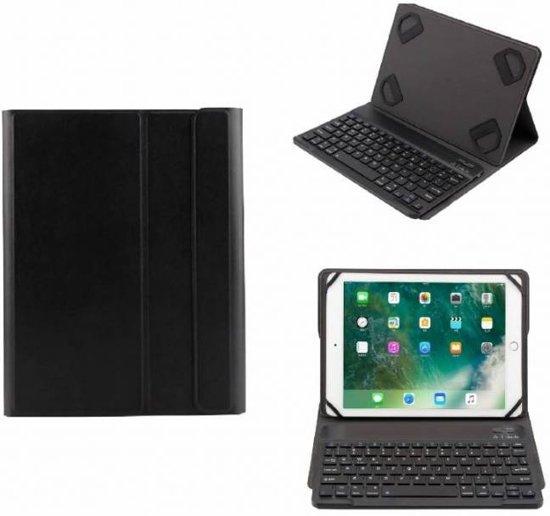 Zwart Magnetically Detachable / Wireless Bluetooth Keyboard hoesje voor Apple iPad 9 -10 inch modellen